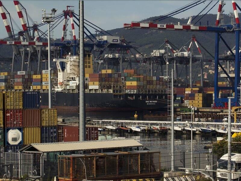 Un'immagine del porto della Spezia