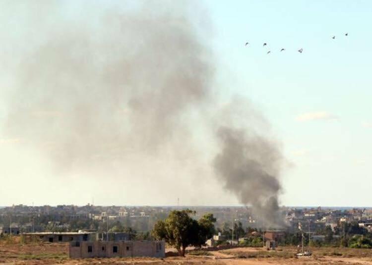 Bombardamenti in Libia