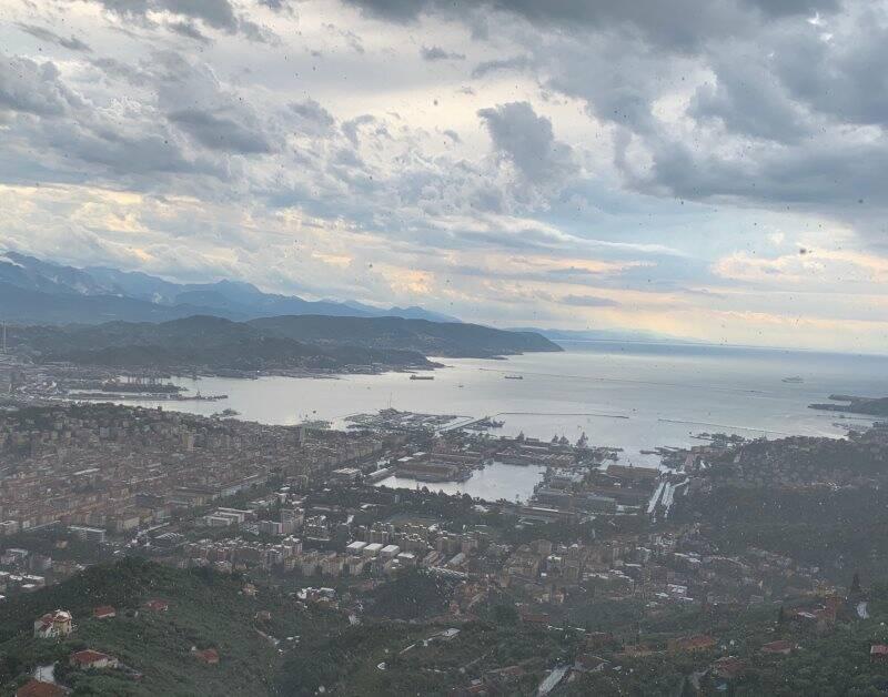 La Spezia dall'alto