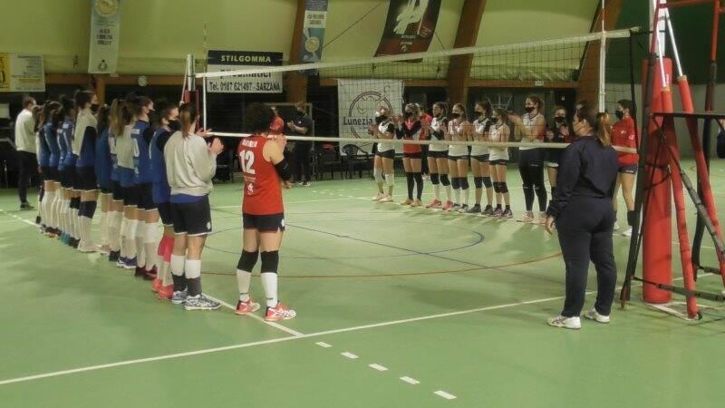 Lunezia Volley e Podenzana Volley schierate