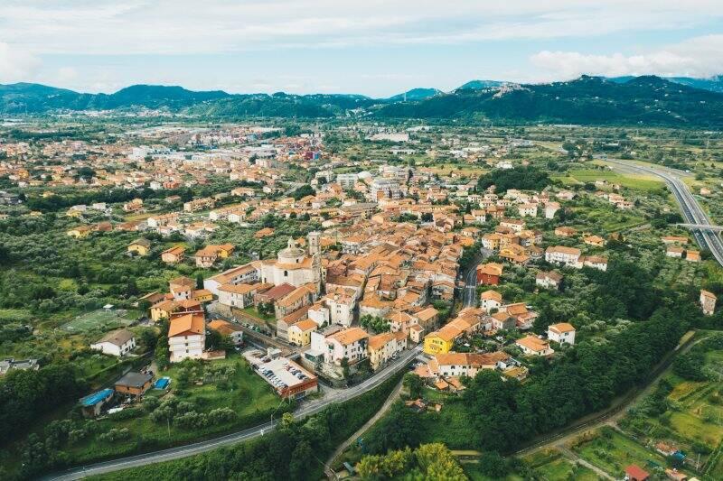 Panorama di Santo Stefano di Magra