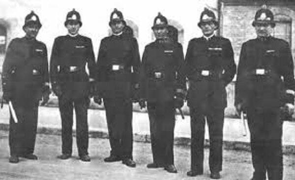Polizia urbana d'epoca