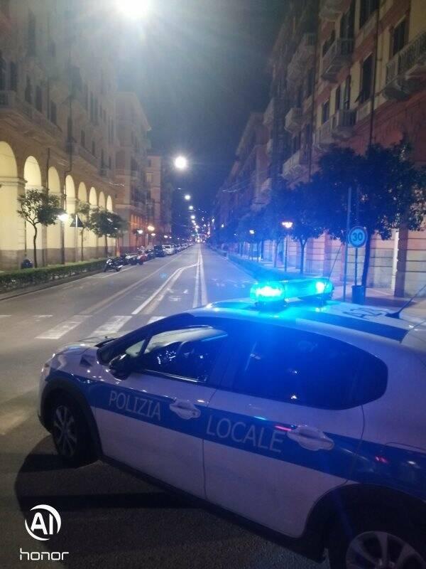 Posto di blocco Polizia Municipale