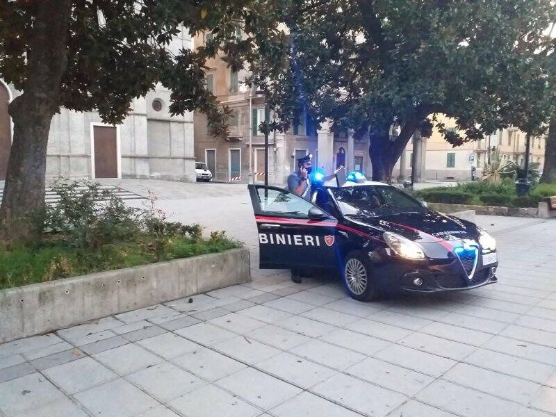 Carabinieri all'Umbertino