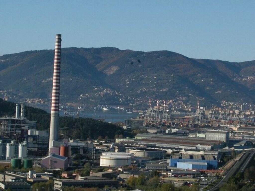 Centrale ENEL e zona industriale