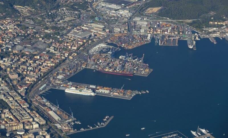 Il porto della Spezia