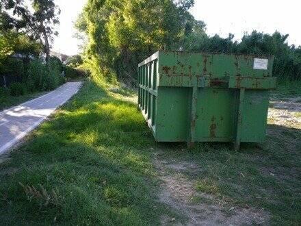 Maxi contenitore rifiuti ingombranti