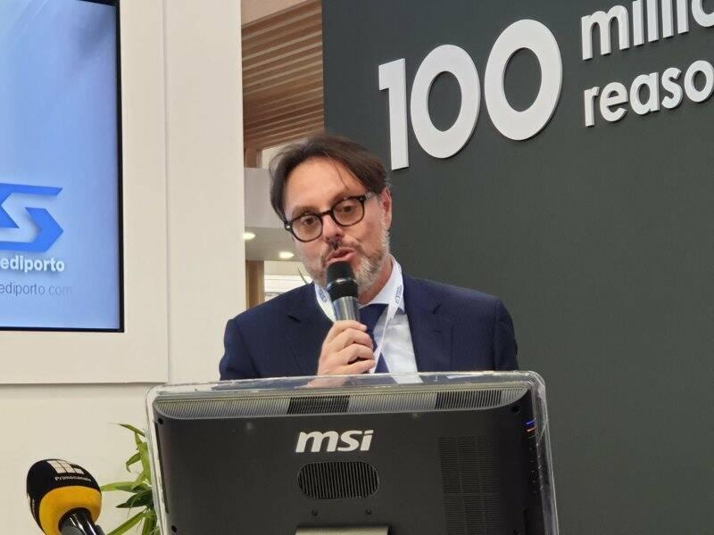 Alessandro Laghezza al Trasport Logistic di Monaco di Baviera