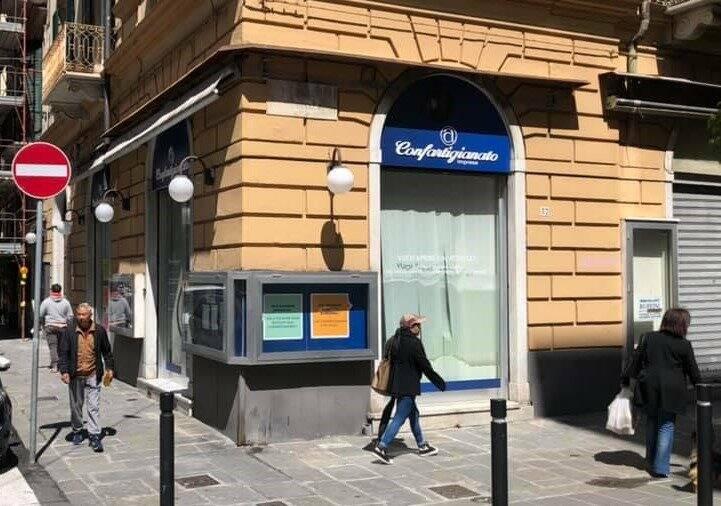Gli uffici di Confartigianato in Via Roma