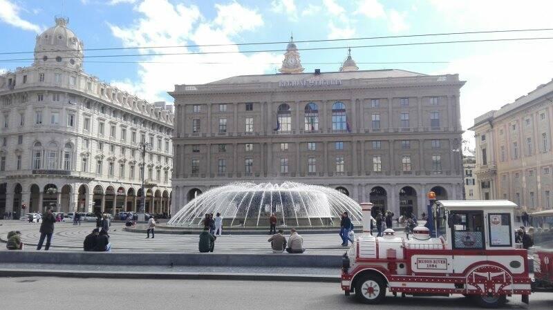 Il palazzo della Regione Liguria, Piazza De Ferrari