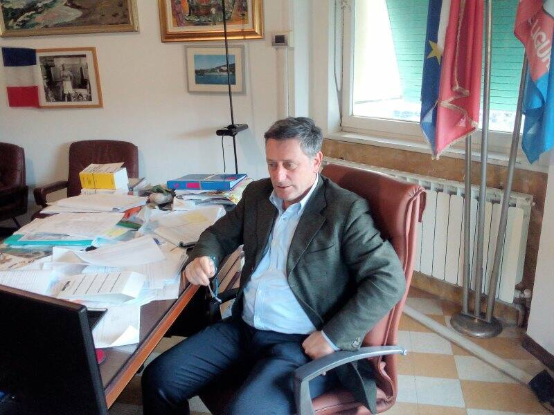 Leonardo Paoletti, sindaco di Lerici