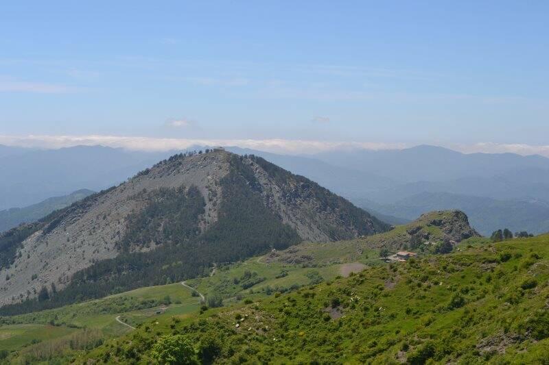 Monte Dragnone, Alta via dei Monti Liguri
