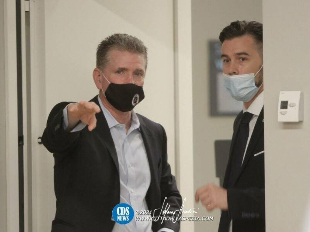 Philip Platek e Gianluca Parenti