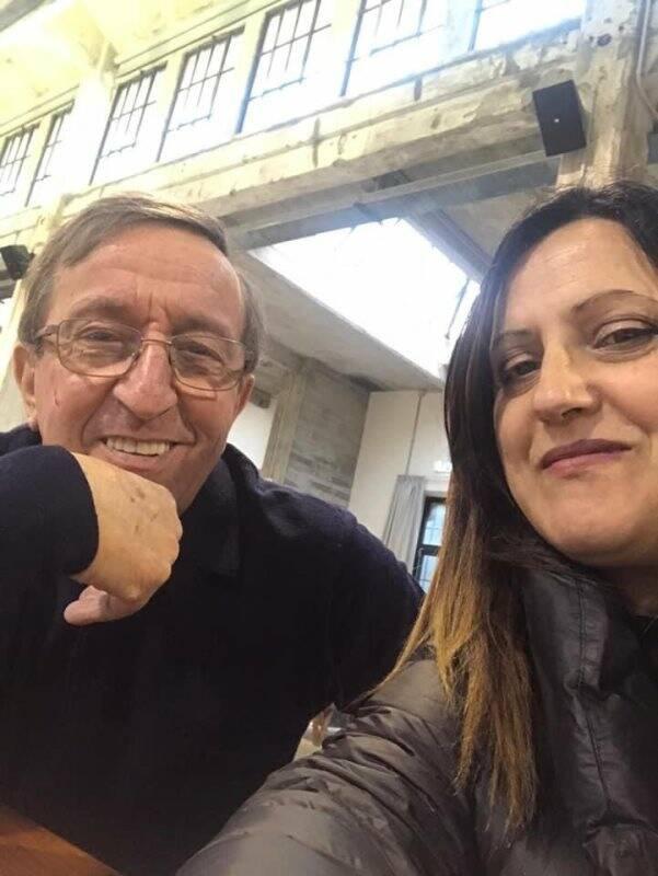 Silvio Ratti e Paola Lazzoni