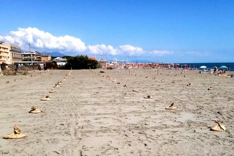 Spiaggia libera di Marinella