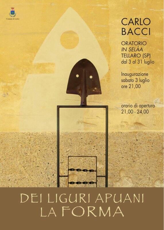 'Dei liguri apuani la forma', Carlo Bacci in mostra all'oratorio In Selàa