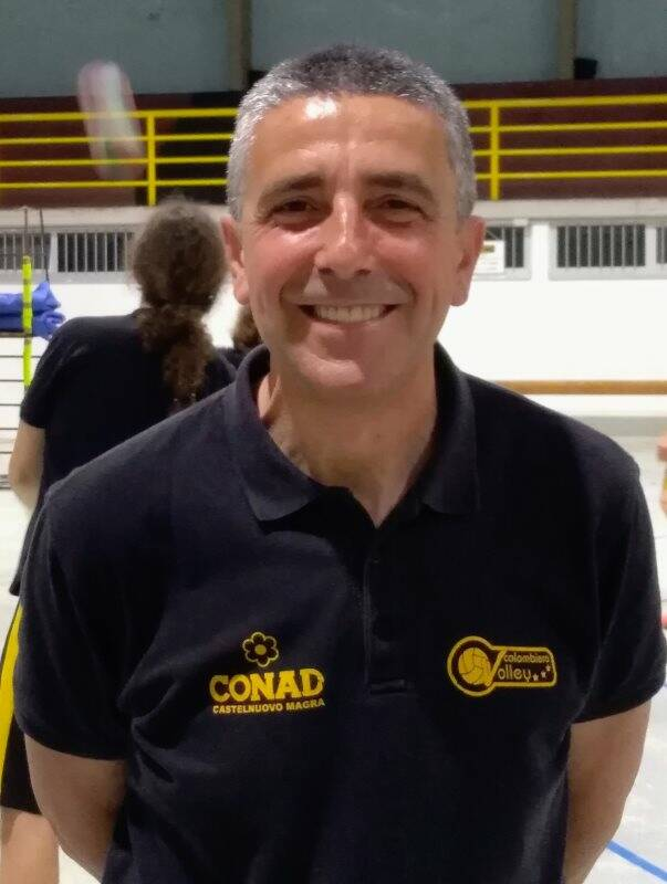 Emilio Carli, allenatore in seconda Volley Colombiera Sarzana Project