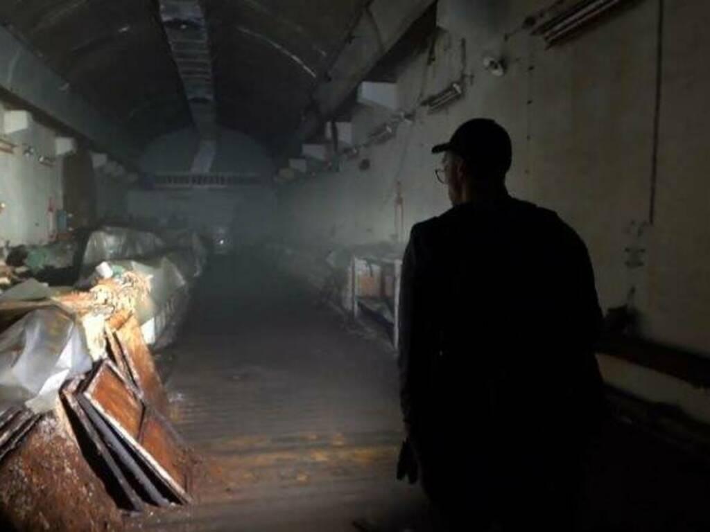 Incursione nei bunker dell'Acquasanta (screencap)