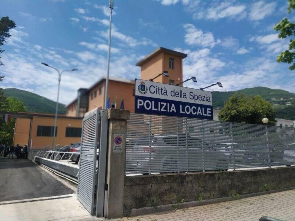 La caserma della Polizia locale della Spezia