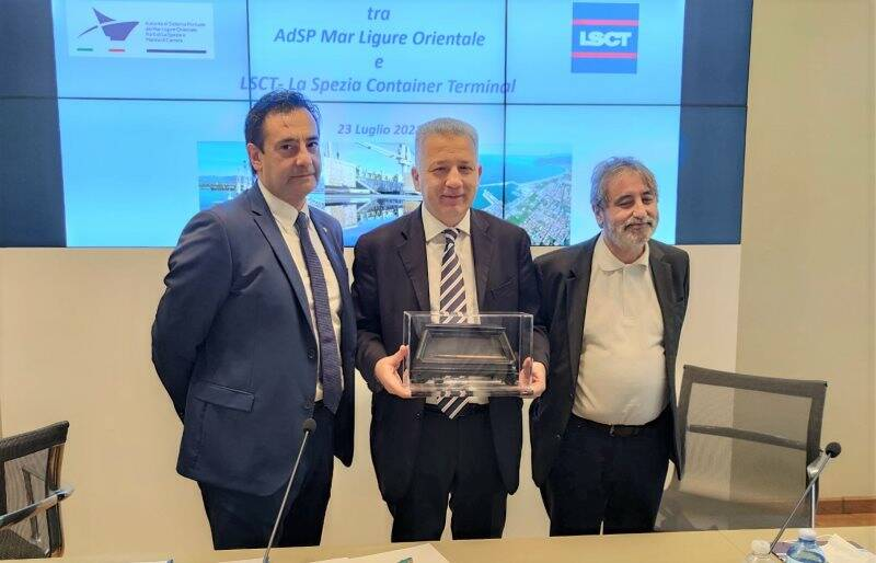 Alfredo Scalisi, Pierluigi Peracchini e Mario Sommariva