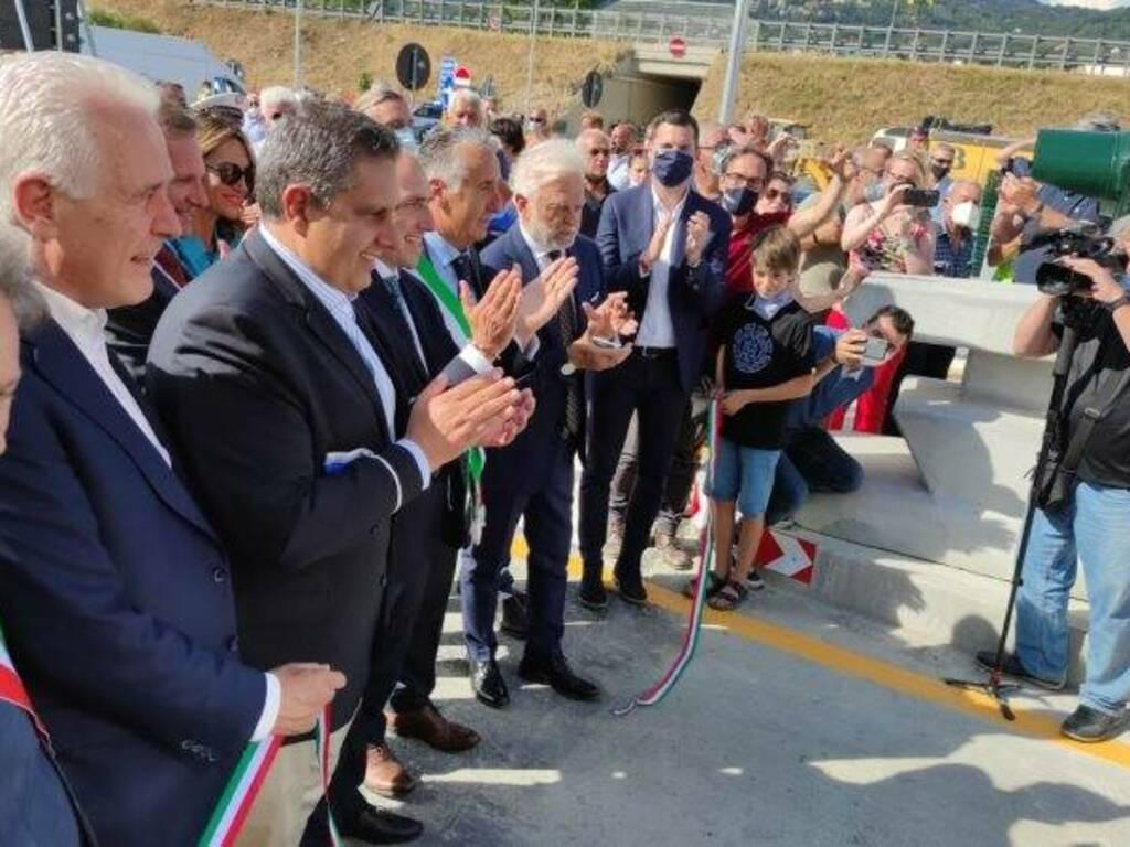Apertura al traffico delle rampe di accesso alla A12 a Ceparana