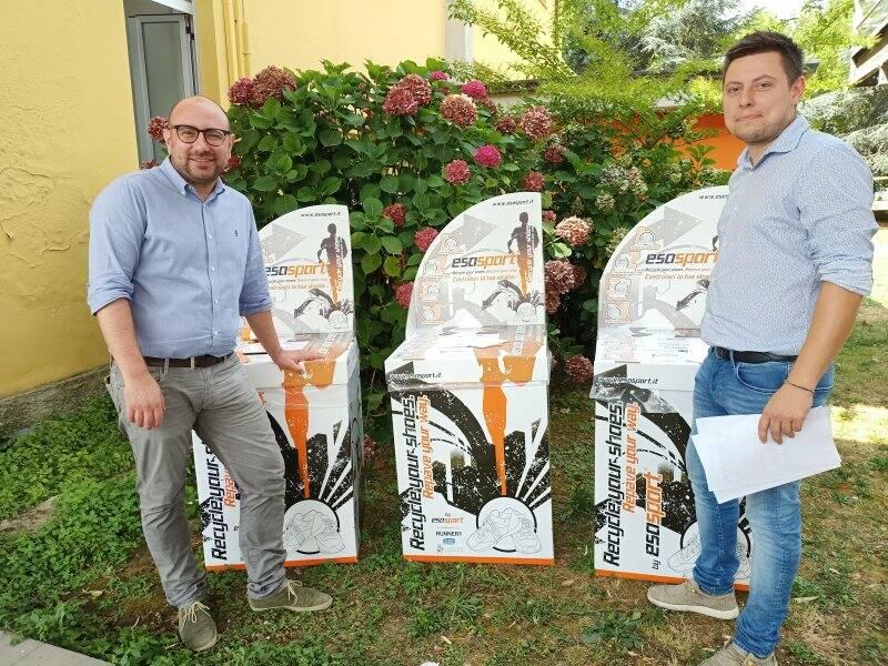 Contentiori per il recupero scarpe a Castelnuovo