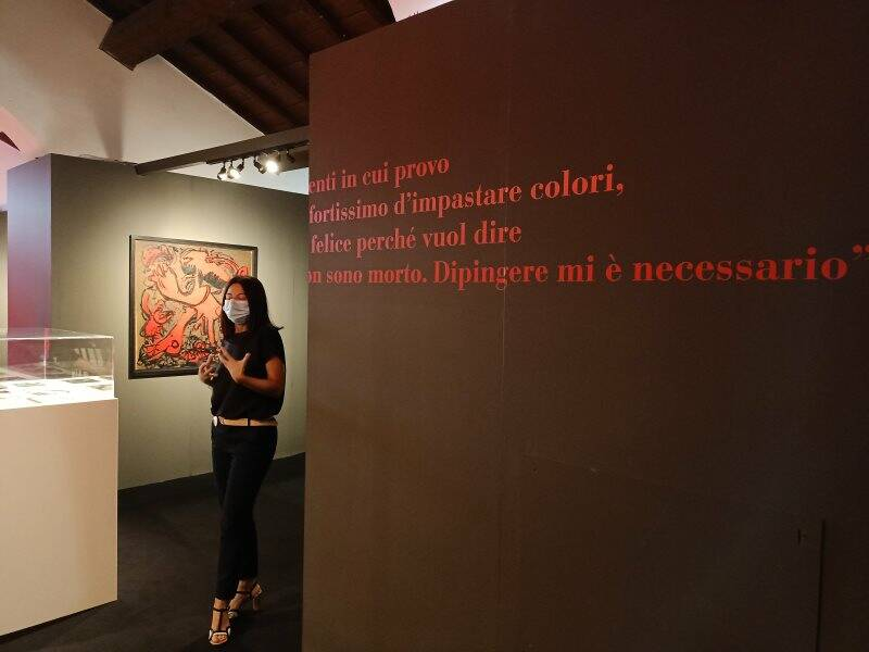 "Gian Carozzi ""Dipingere mi è necessario"""