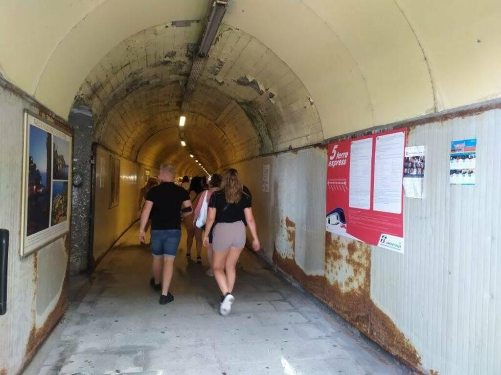 Il tunnel di Manarola