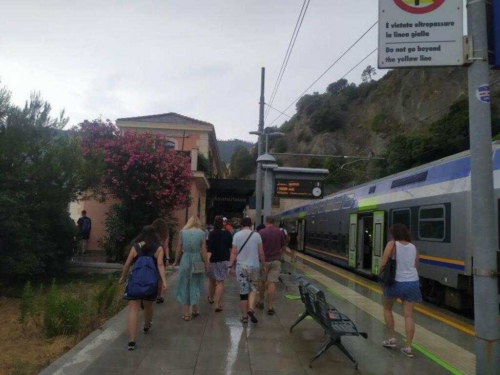 La stazione ferroviaria di Monterosso
