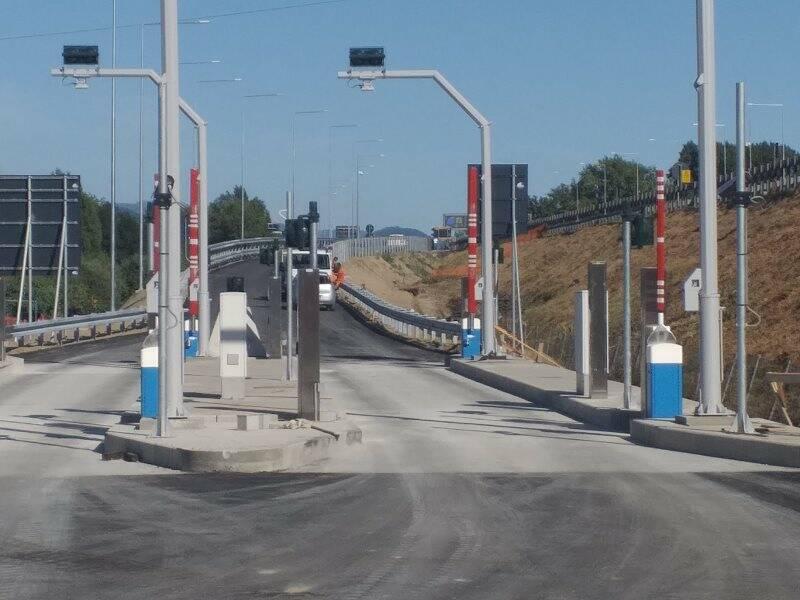 Le nuove rampe della A12 a Ceparana