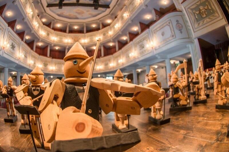 Pinocchio incontra Paganini