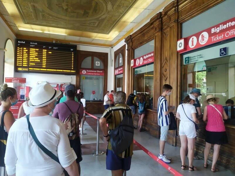 Stazione centrale della Spezia