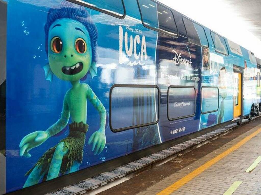 "Treno Rock dedicato a ""Luca"""