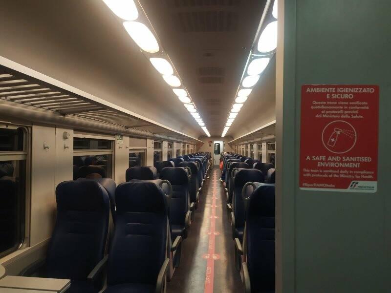 Vagoni del treno