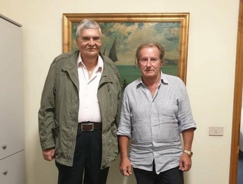 Gino De Luca e Walter Bertoncini