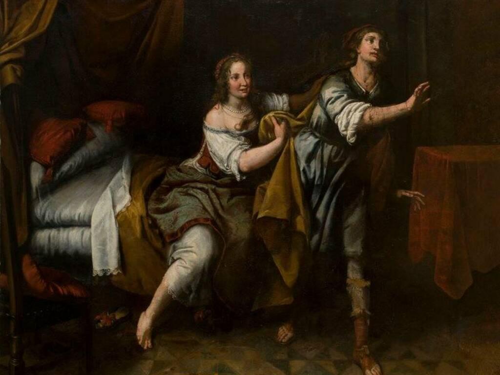 Giuseppe e la moglie di Putifarre, collezione privata