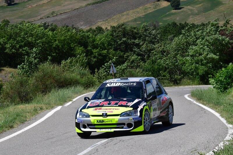 Nicola Angilletta al Rally di Salsomaggiore Terme.