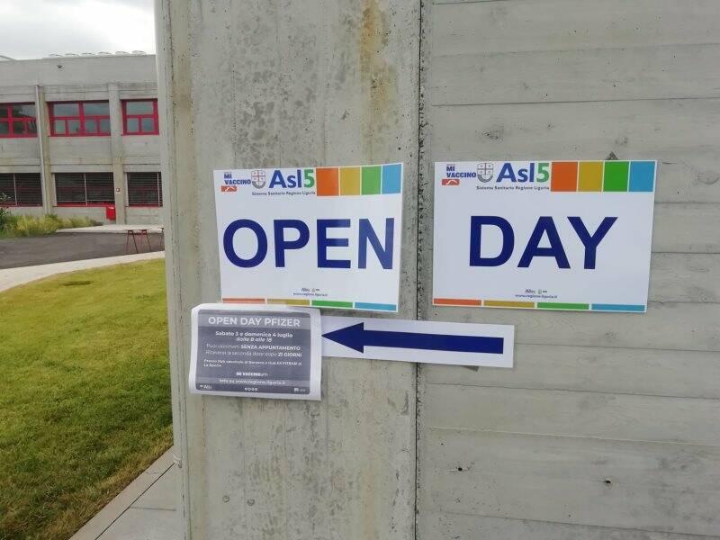 Open Day Pfizer al San Bartolomeo