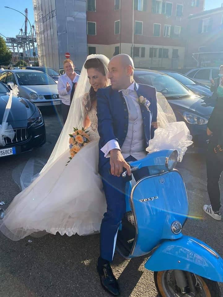 Alfonso e Stefania sposi