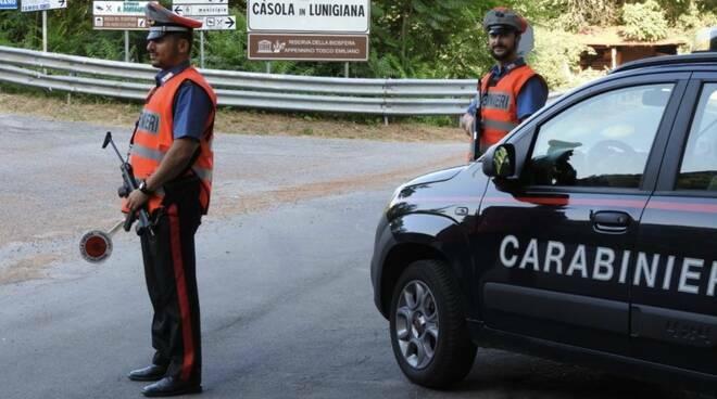 Carabinieri in Lunigiana