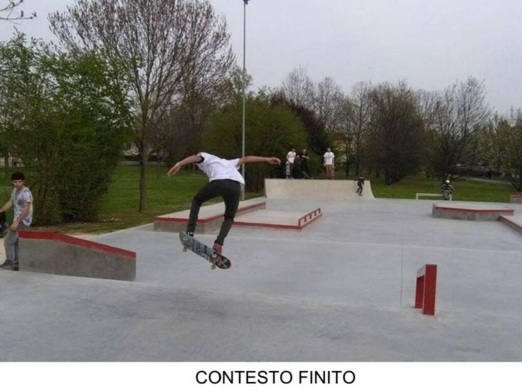 Il progetto per un nuovo skatepark nel Parco del Colombaio