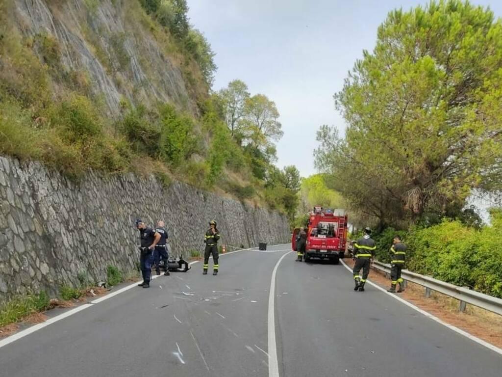 Incidente stradale in Litoranea