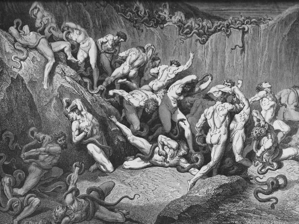 Inferno, Divina commedia