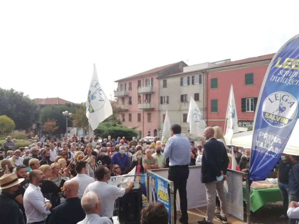 Matteo Salvini a Santo Stefano