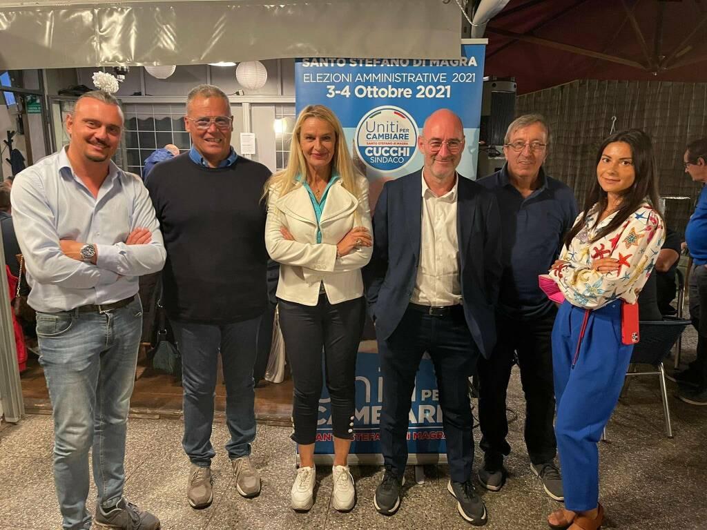 On. L. Viviani, E. Parisi, Sen. Sottos. S. Pucciarelli, E. Cucchi, S. Ratti, E. Aiesi