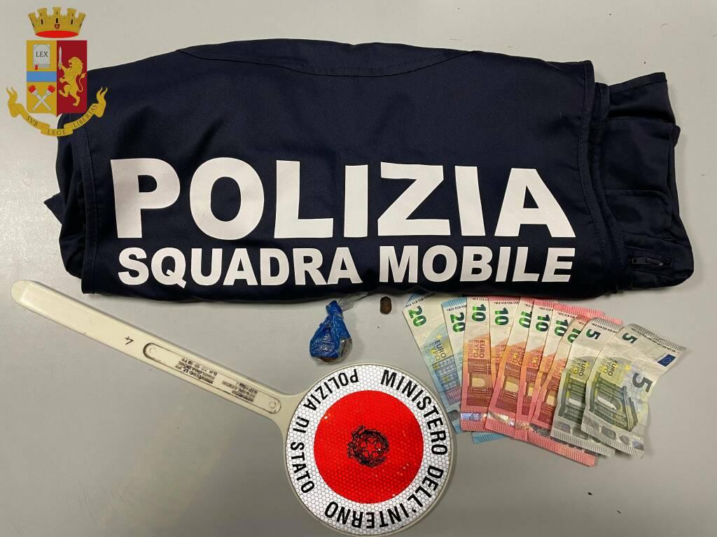 Sequestro Squadra Mobile
