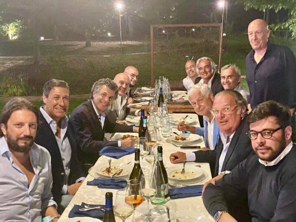 Serata all'Agriturismo La Valle per Forza Italia
