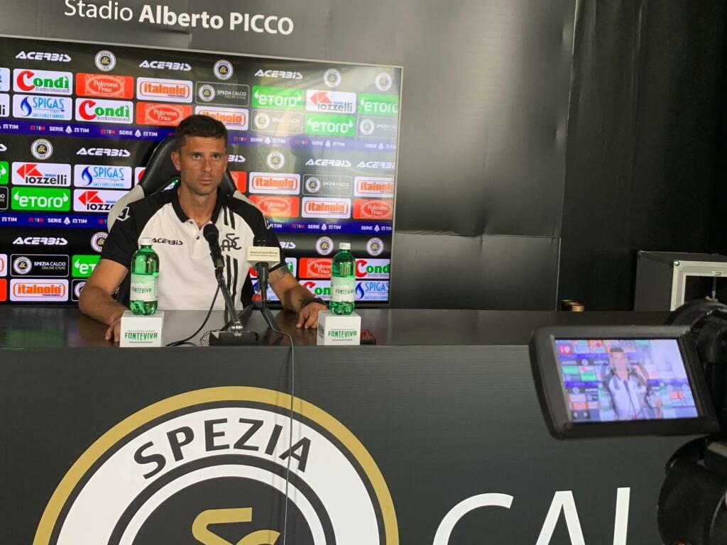 Thiago Motta in conferenza stampa
