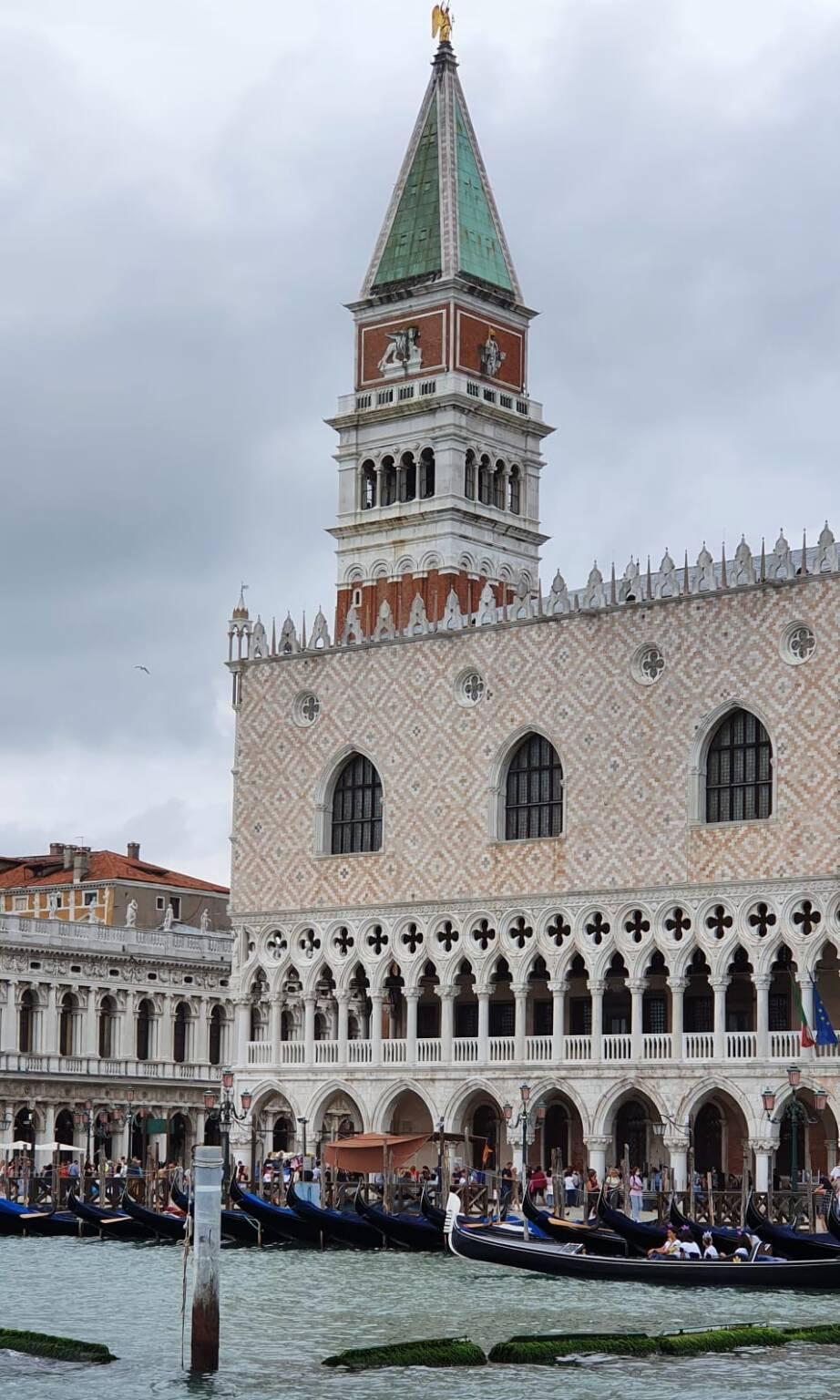 Un inconfondibile scorcio di Venezia