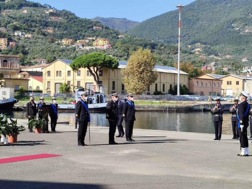 L'avvicendamento tra gli ammiragli Lazio e Ribuffo al vertice del Comando marittimo Nord